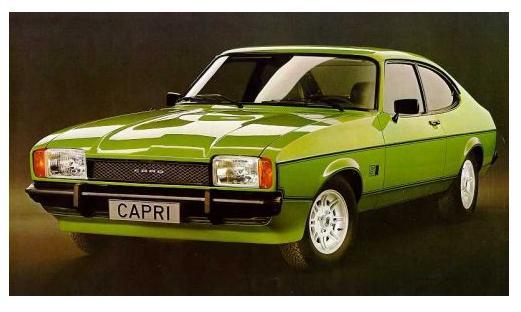Ford Capri Mk II (1974)