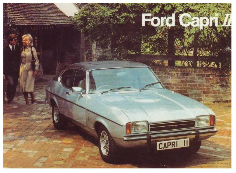 Ford Capri Mk II (1974-1977)