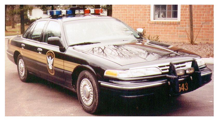 Ford Crown Victoria - Police car (1992-1997)