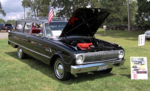 Ford Falcon: 2-drzwiowe kombi