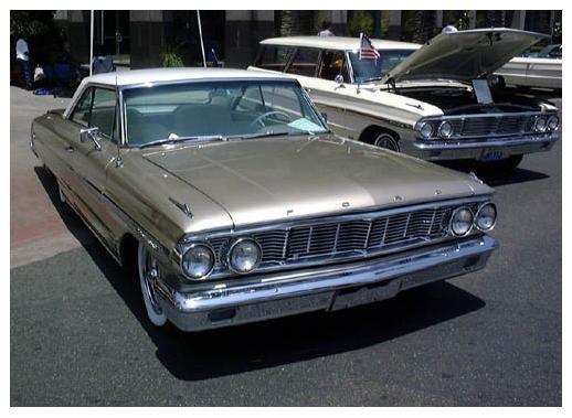 Ford Galaxie - 2-drzwiowy hardtop (rok prod. 1964)