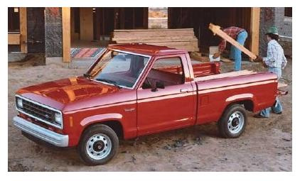 Ford Ranger Regular Cab (1983)