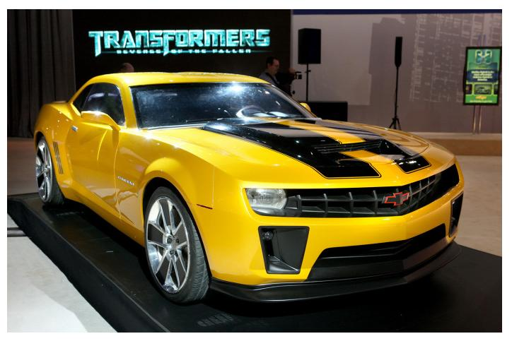 Chevrolet Camaro 2009 Transformers Special Edition