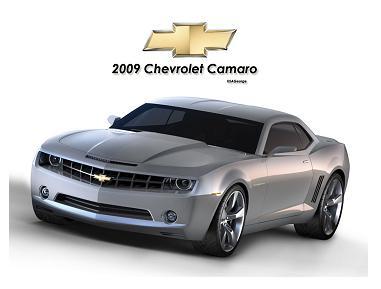 Chevrolet Camaro 2009 - Piąta generacja kultowego samochodu sportowego
