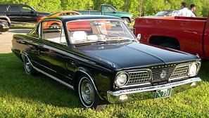 Plymouth Barracuda - pierwsza generacja z roku 1964