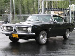 Plymouth Barracuda - pierwsza generacja, model z roku 1966