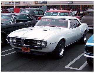 Pontiac Firebird - 1967 - pierwsza generacja jednego z kilku kultowych sportowych aut z USA